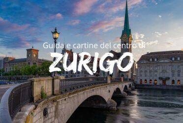 Guida e cartina del centro di Zurigo