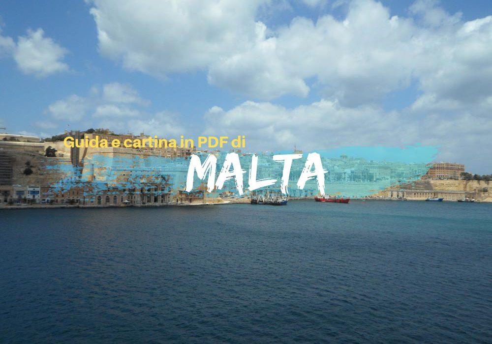 Guida e cartina in Pdf di Malta