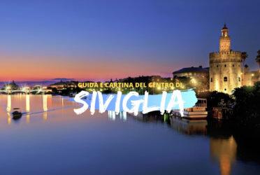 Guida e cartina del centro di Siviglia