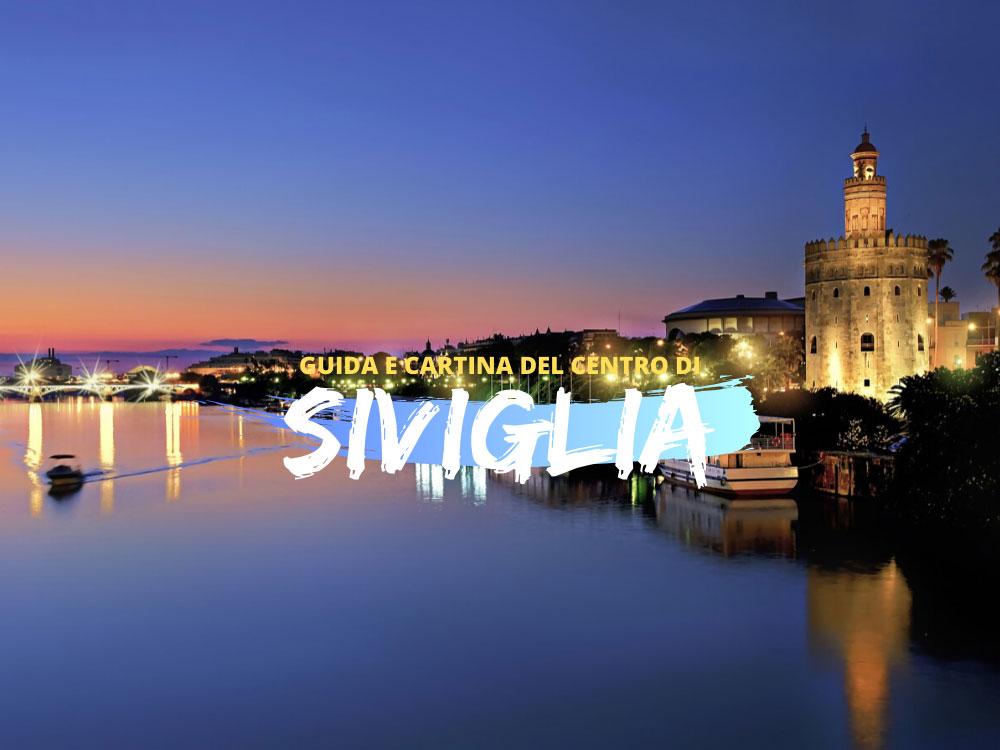 Guida e cartina del centro di Siviglia in Pdf gratis