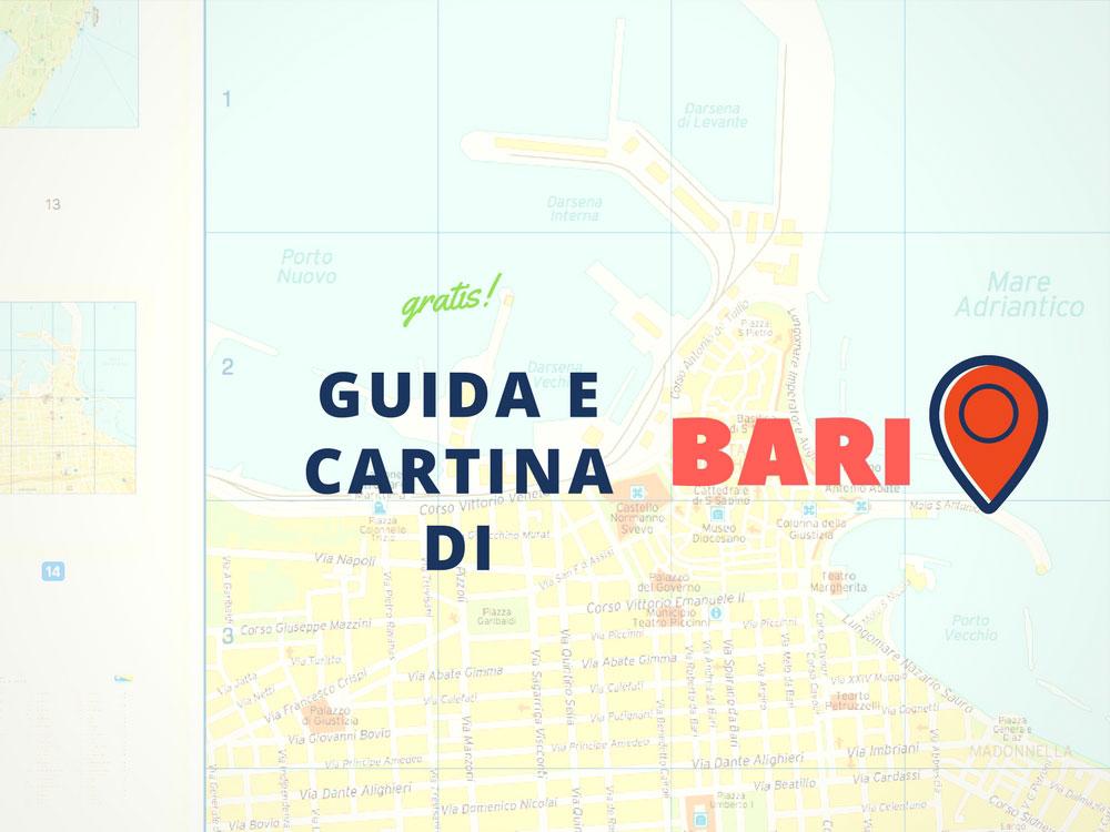 Guida e cartina del centro di Bari