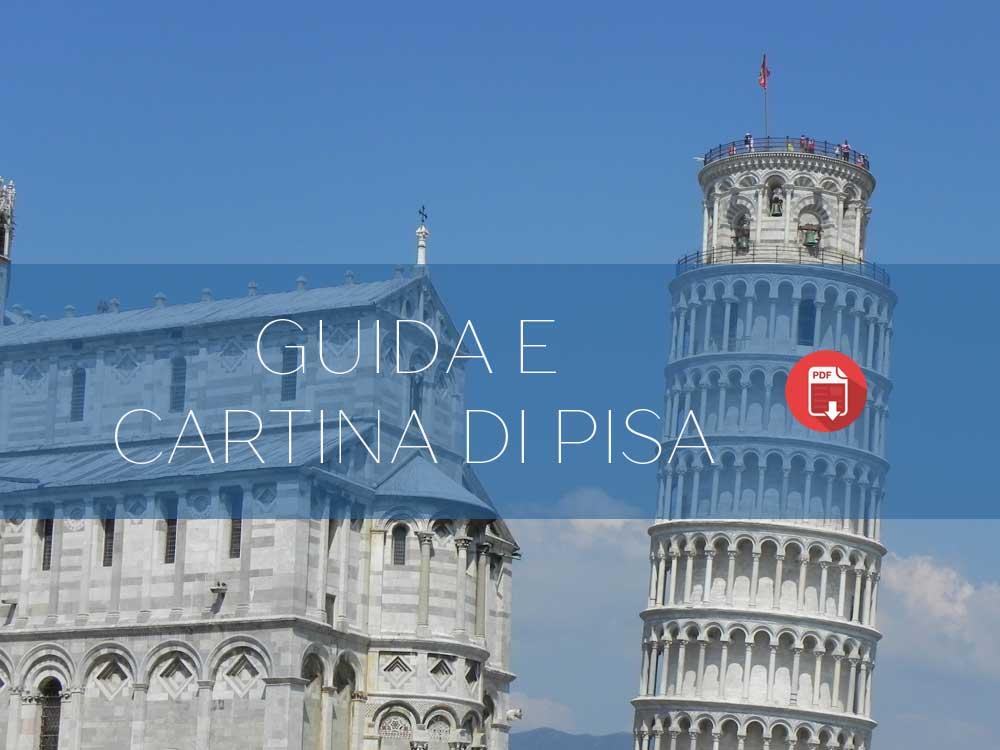 Guida e cartina del centro di Pisa
