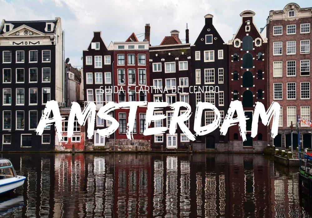 Guida e cartina del centro di Amsterdam