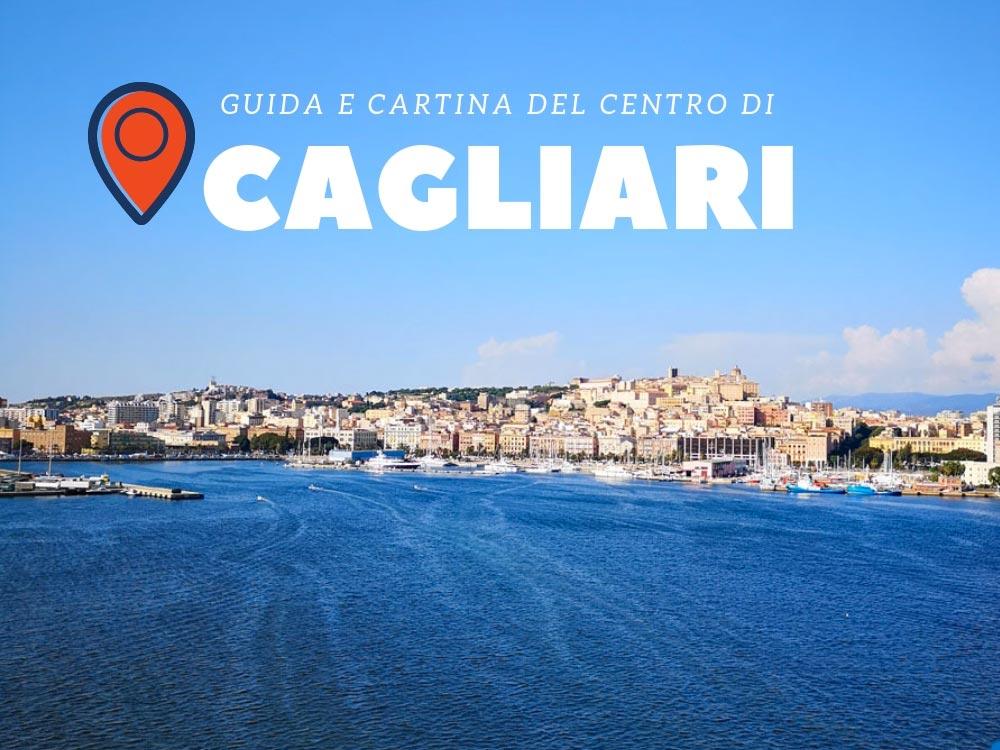 Guida e cartina del centro di Cagliari