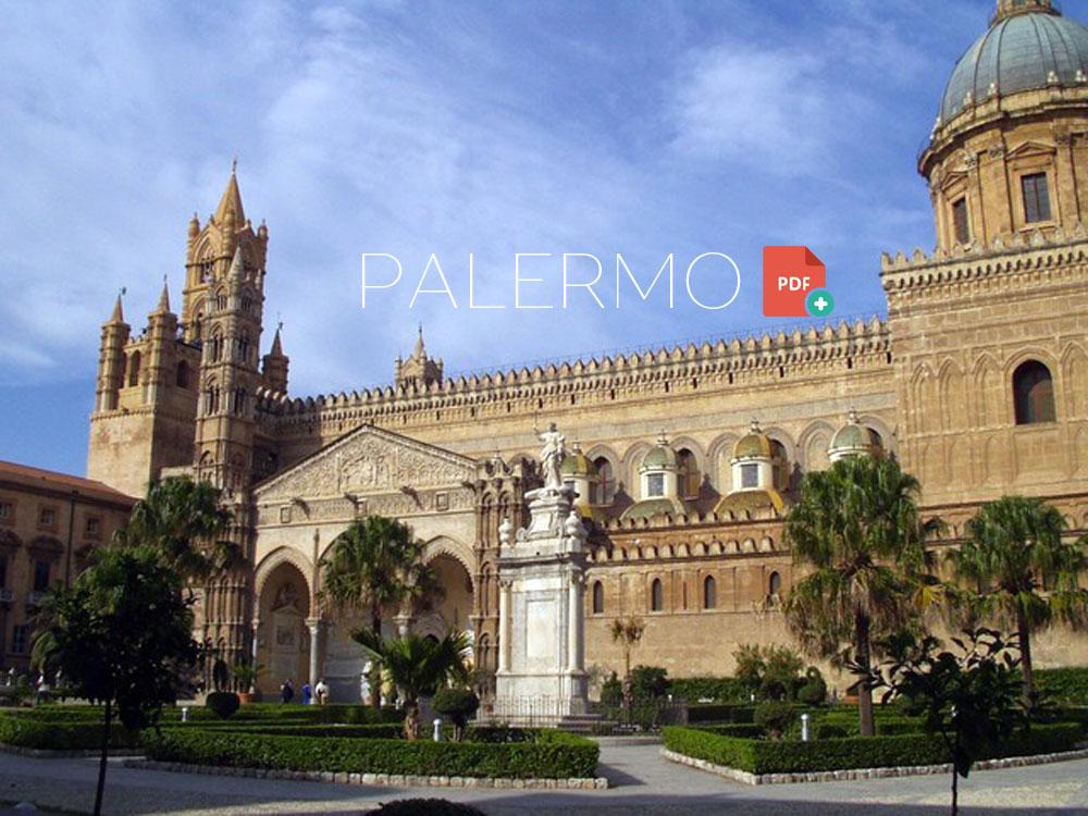 Cartina e guida di Palermo gratis da stampare