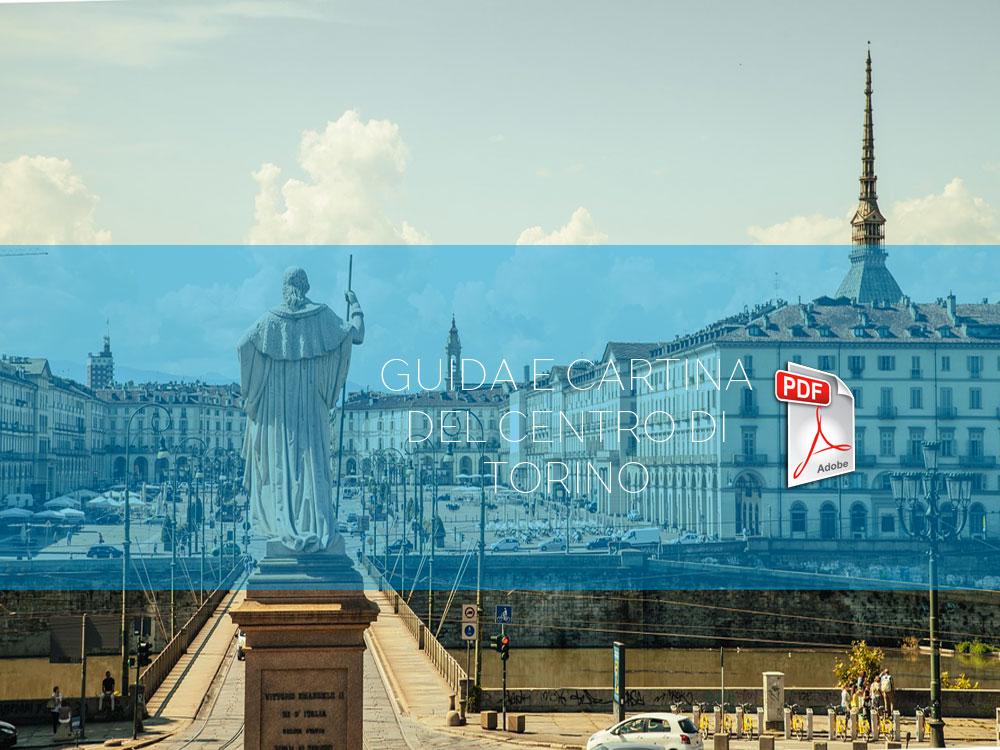 Guida e cartina del centro di Torino da stampare
