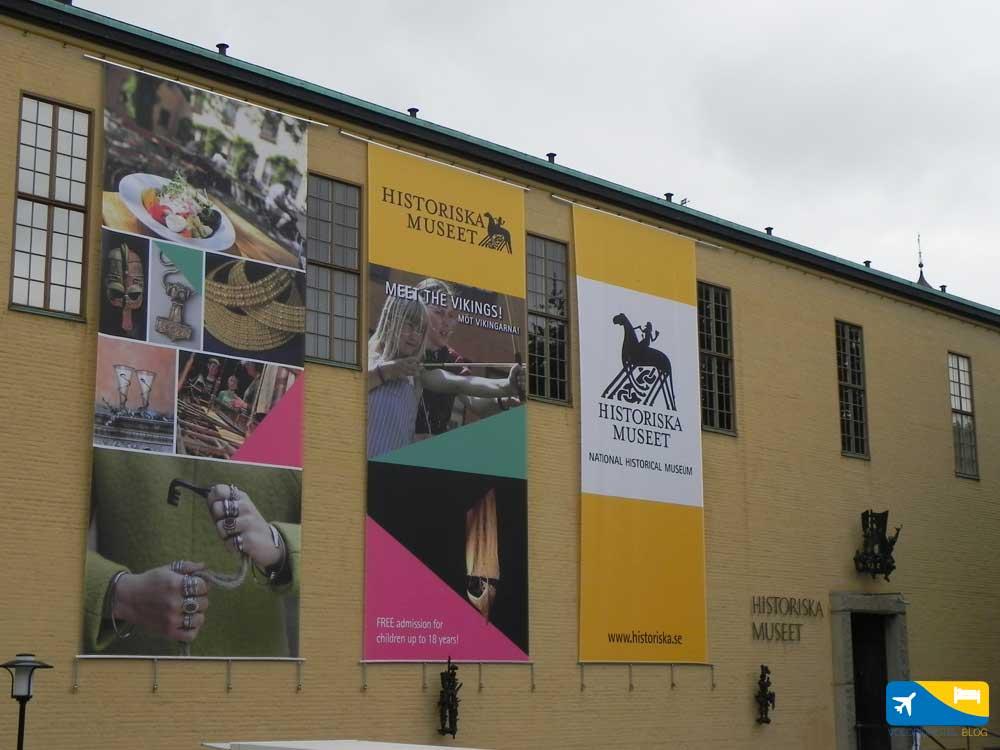 Historiska Museum Stoccolma
