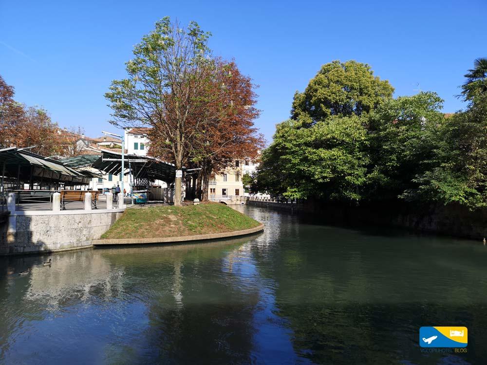 isola della Pescheria a Treviso