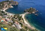Spiaggia di Isola Bella a Taormina