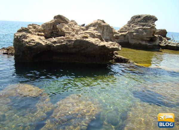 Spiaggia di Kalithèa a Rodi come arrivare