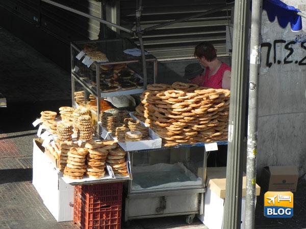 Dove mangiare i koulouri in Grecia