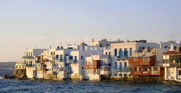 Little Venice a Mykonos come arrivare