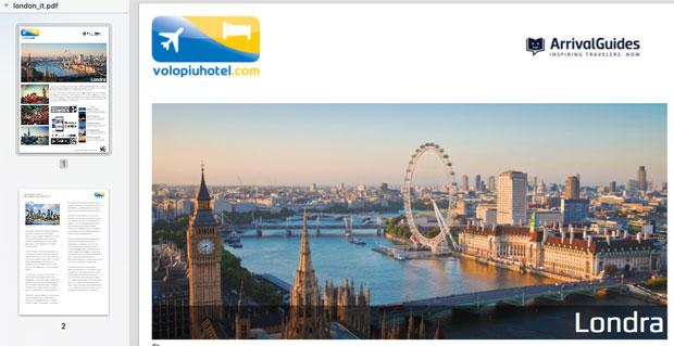 Cartina del centro di Londra da stampare