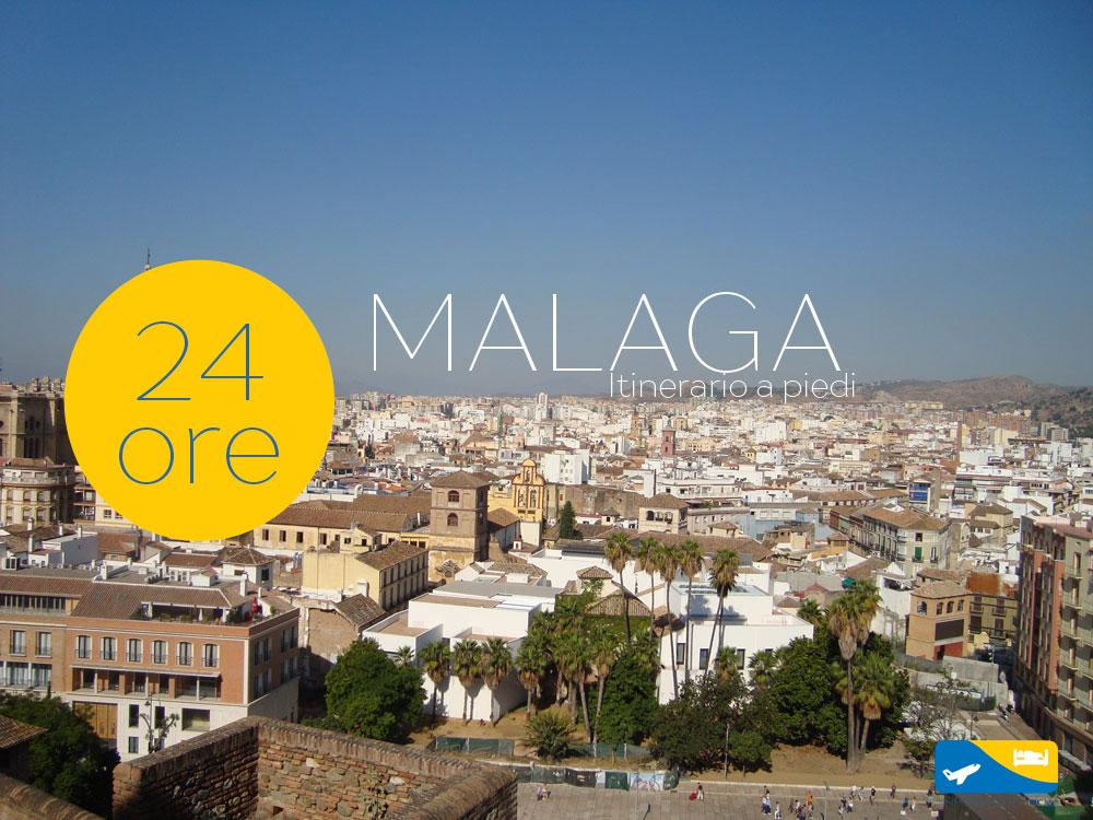 Un giorno a Malaga: itinerario a piedi