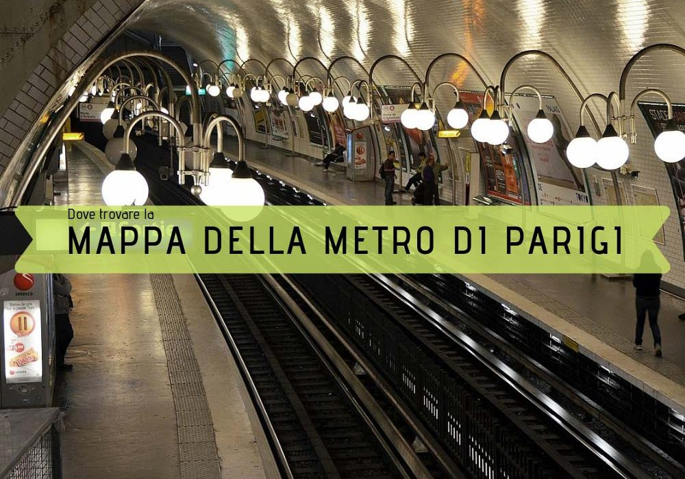 Mappa della metropolitana di Parigi dove e come trovarla