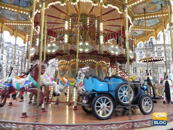 Le giostrine di Parigi: I Manèges