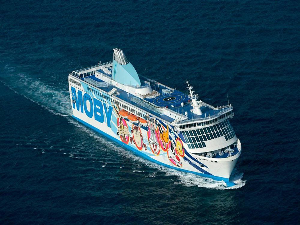 La Sardegna più vicina con Moby e Tirrenia