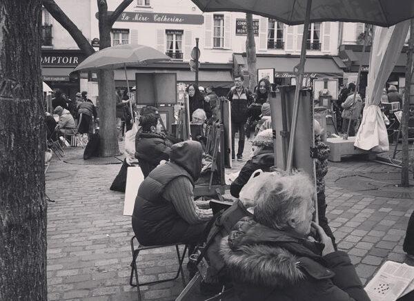 Visitare Montmartre il quartiere  degli artisti a Parigi