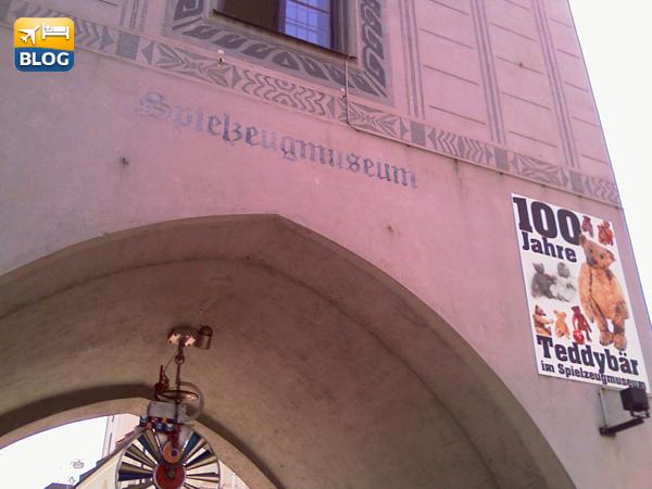 Spielzeugmuseum il museo del giocattolo a Monaco
