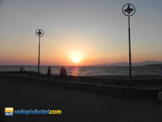 I tramonti delle isole greche