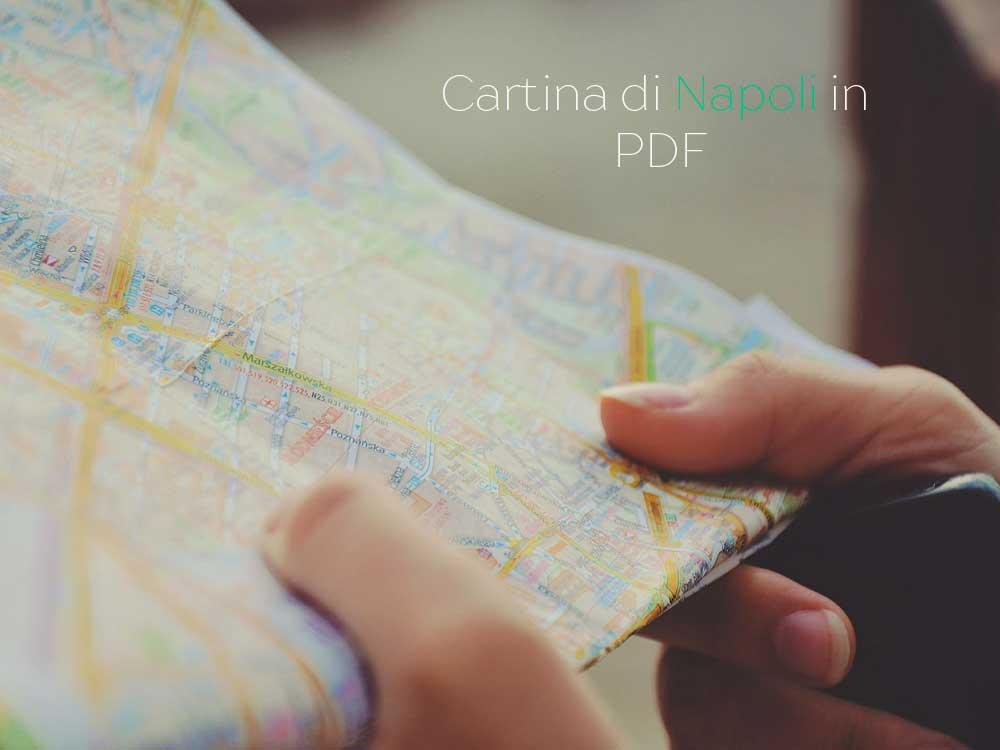 Cartina del centro di Napoli da stampare
