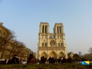 Parigi veduta di Notre Dame
