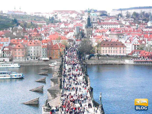 Ponte Carlo a Praga come arrivare