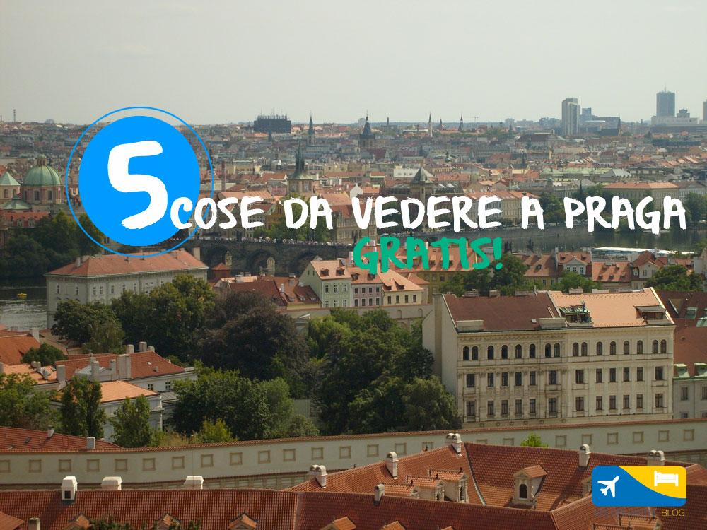 Praga gratis: 5 cose da vedere