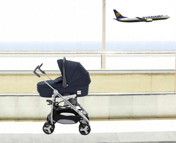 Come volare con un neonato su Ryanair