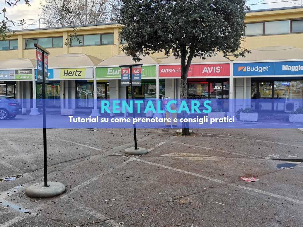 Rentalcars: come prenotare il noleggio auto consigli