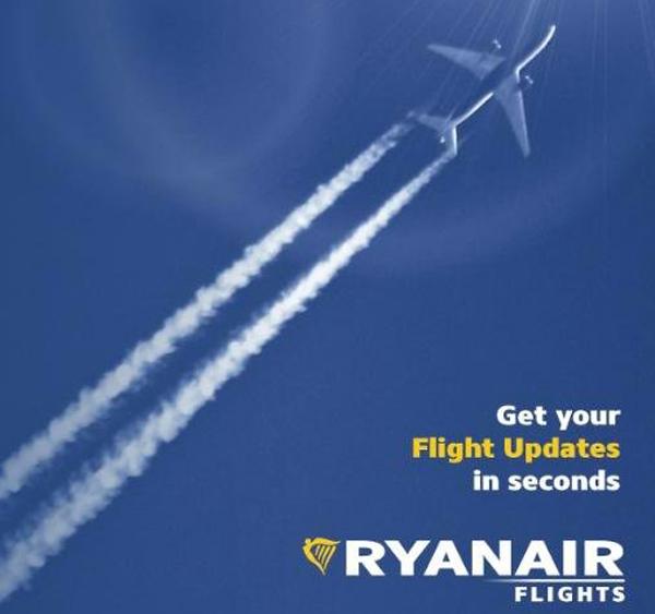 Come conoscere lo stato dei voli Ryanair