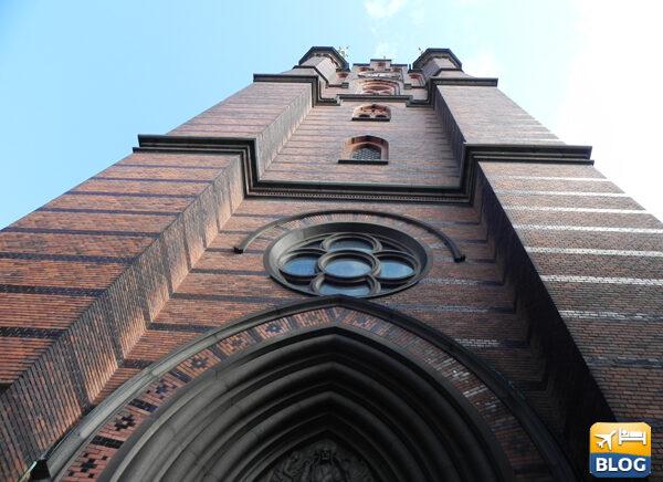 Visitare la chiesa di S:ta Clara a Stoccolma