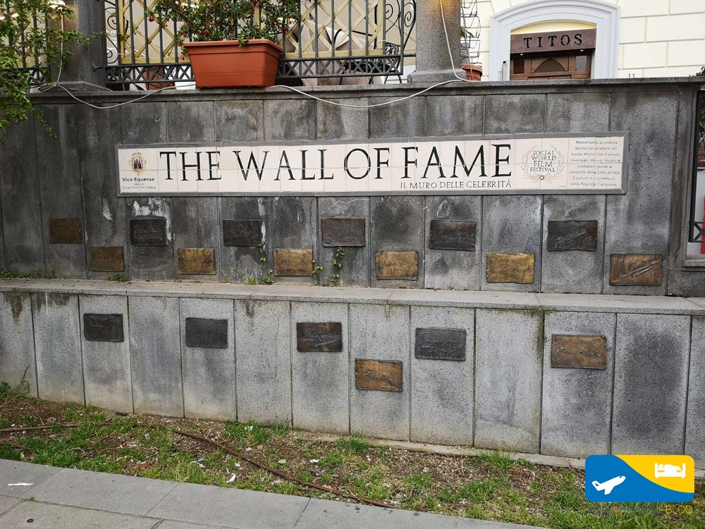 Wall of fame Vico Equense