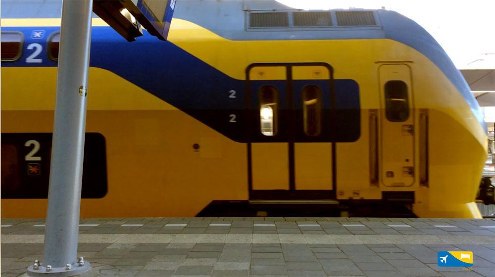 Treno da Schiphol a Utrecht