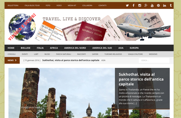 Blog Viaggiaescopri