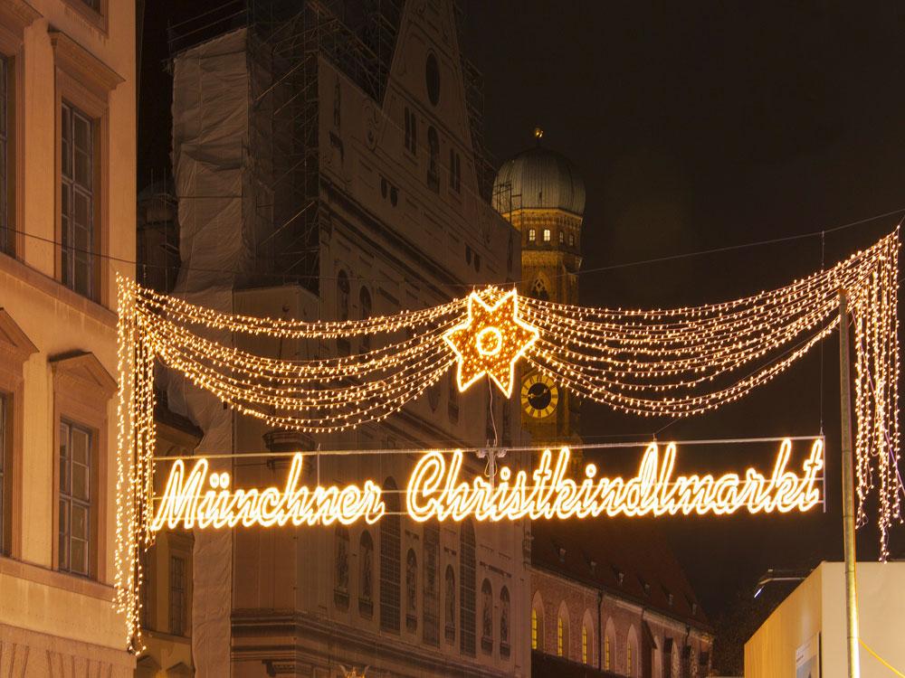 Mercatino di Natale a Monaco di Baviera